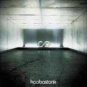 album cover of Hoobastank's self-titled record
